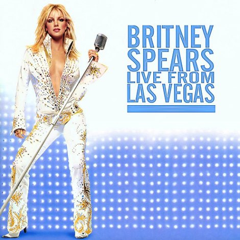 Britney Spears 2007 in an Elvis Jumpsuit