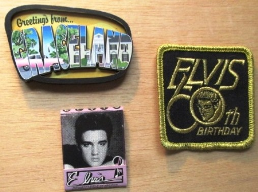 Elvis Magnet, Patch, and Matches