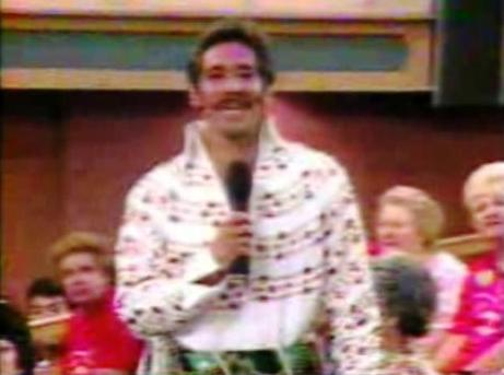 Geraldo 1992 in Elvis Jumpsuit