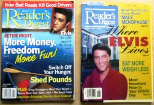 Two Elvis stories in Readers Digest