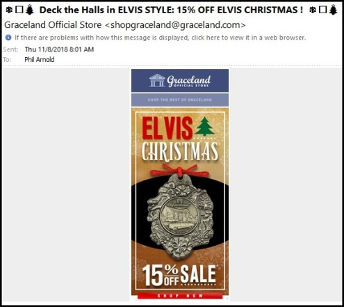 Deck the Halls in Elvis Style 11-8