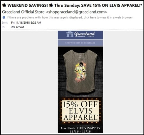Elvis Apparel 11-16