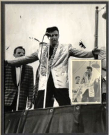 Elvis at Pearl Harbor Concert