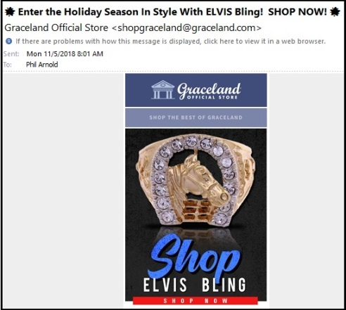 Shop Elvis Bling 11-5
