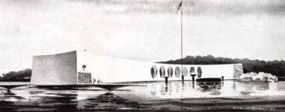 USS Arizona War Memorial Rendering