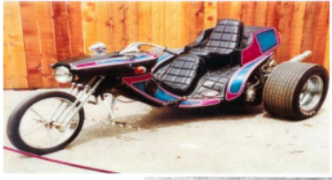 2005 Replica of Elvis' SuperTrike