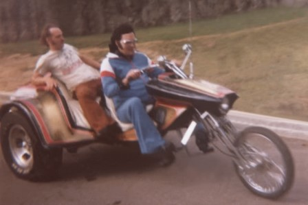 Cousin Billy Smith Riding with Elvis
