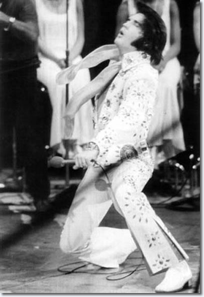 Elvis Going Down to Knees