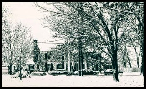Graceland in Winter - Front View