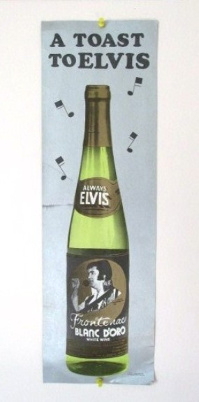 Always Elvis Wine Poster