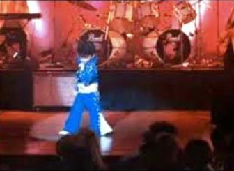 Bruno Doing Elvis in Honeymoon In Vegas