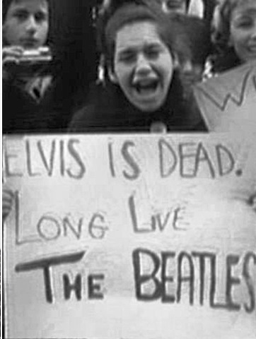 Elvis is Dead Long Live the Beatles
