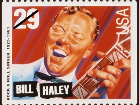 Bill Haley Stamp