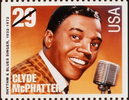 Clyde McPhatter Stamp