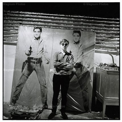 Andy Warhol and Elvis Paintings