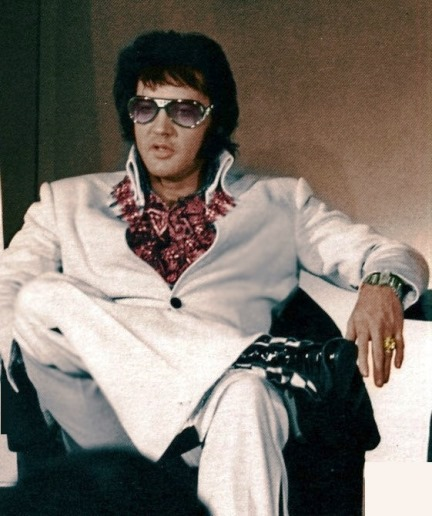Elvis - iconic power, or instant visual recognition