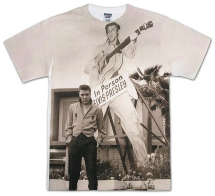 Elvis Larger Than Life Sublimated T-shirt