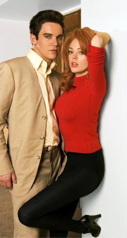 Jonathan Rhys Meyers as Elvis with Ann-Margret