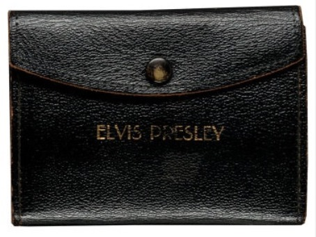 Wallet for Elvis' Chief Deputy Badge For Lee County Mississippi