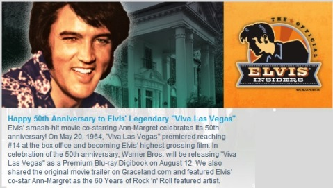Elvis Insiders Announcement May 23, 2014