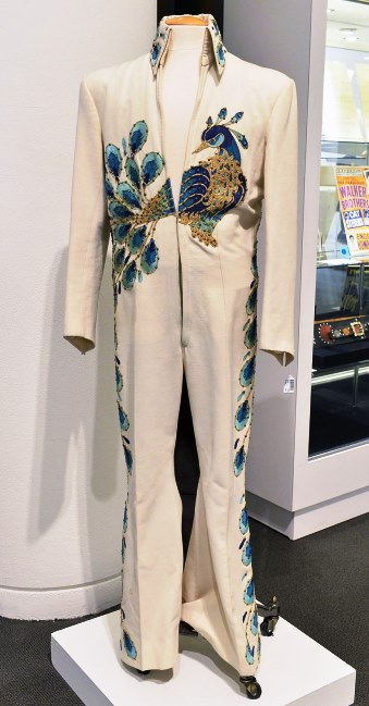 Elvis Peacock Jumpsuit at Sotheby's Auction