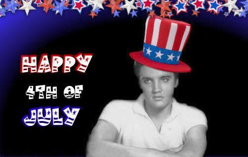 Elvis in4th of July Hat