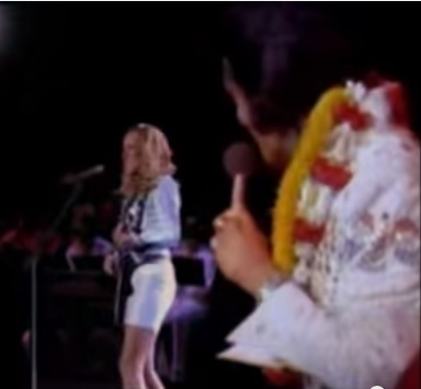 Elvis and Cheryl Crow on BBC 2 Commercial