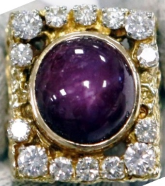 Elvis' 41-carat ruby and diamond ring