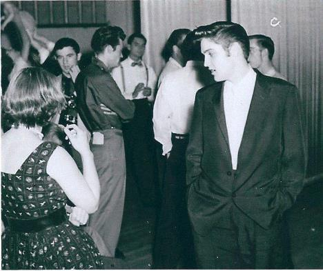 Only Known Photo with both Elvis and Al Wertheimer in It