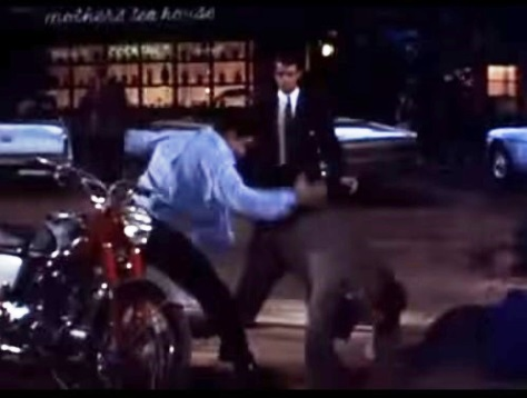 Elvis Winning Fight with Karate Chop in Roustabout