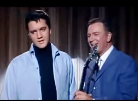 Elvis and Jack Albertson - Roustabout