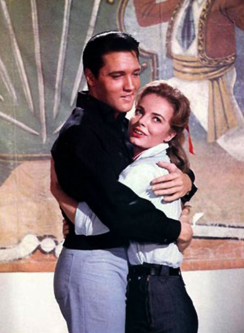 Elvis and Joan Freeman in Roustabout