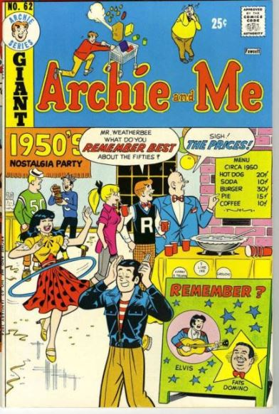 Elvis on Archie and Me Cover