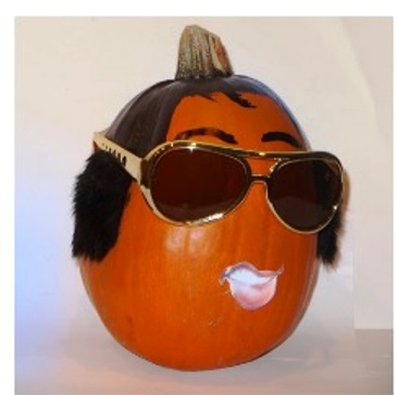 Graceland Elvis Pumpkin Contest Loser 1