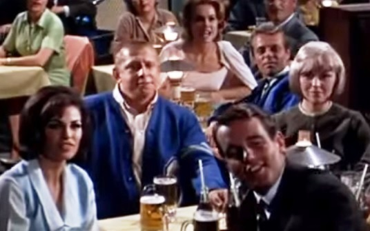Raquel Welch and Guy from Girl Happy