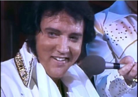 Elvis Singing Unchained Melody