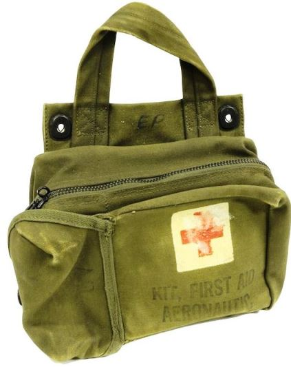 Elvis Presley's Army First Aid Kit