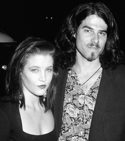 Lisa marie and Danny Keough