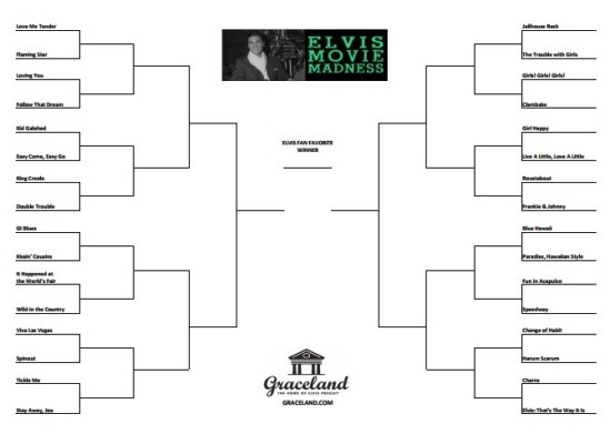 Elvis Movie Madness Brackets