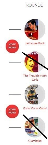 Elvis Music Madness Round 1 Region 3