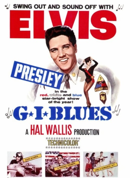 GI Blues Poster