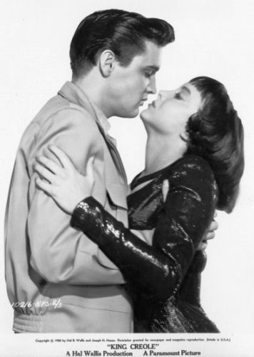 Elvis and Carolyn Jones in King Creole