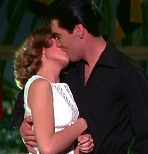 Elvis Kissing Shelly at end of Girl Happy 2