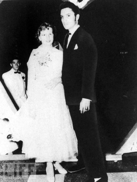 Elvis and Regis at Senior Prom 1953