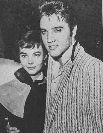 Natalie Wood and Elvis