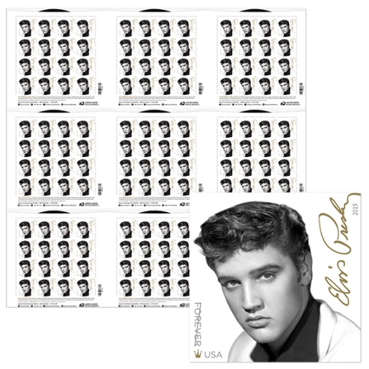 21.25 x 21.25-inch press sheet without die-cuts, containing nine panes of 16 stamps positioned three across by three - $70