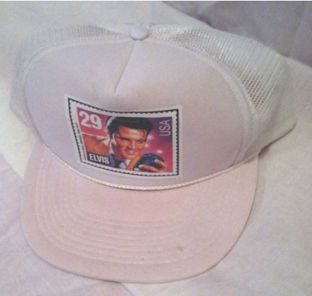 Elvis Stamp Baseball Cap