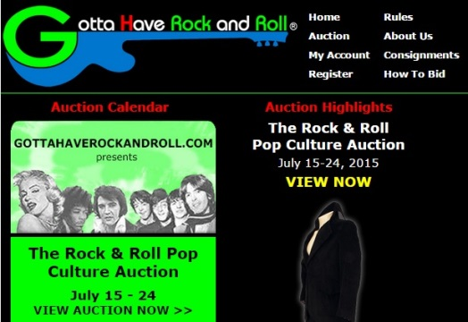 Gotta Have Rock and Roll Website