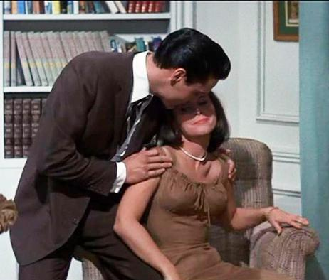 Elvis Puts More Moves on Yvonne Craig
