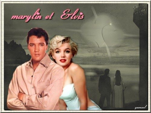 Elvis and Marilyn 3
